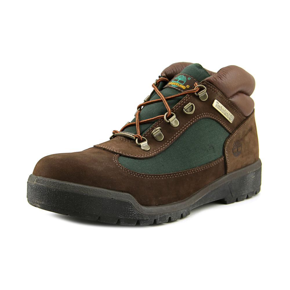 Timberland Gore-Tex Hiker Men Round Toe Leather Brown Hiking Boot by Timberland