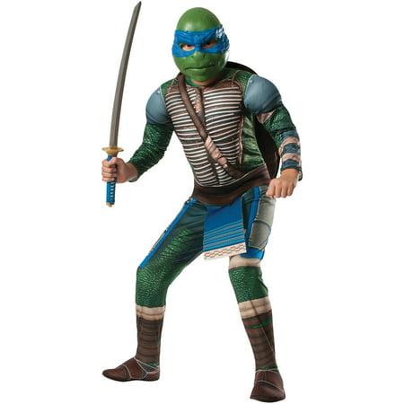 Teenage Mutant Ninja Turtles Leonardo Child Halloween Costume - Childrens Ninja Costume