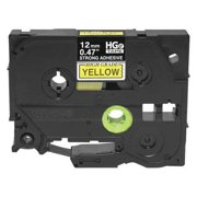 BROTHER Label Tape CTG,26-13/64ftx0.47in,PK5 HGeS6315PK
