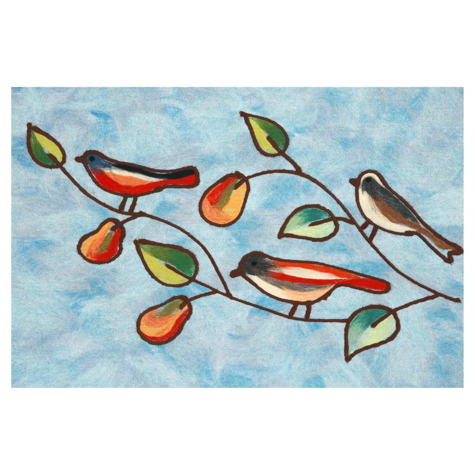Trans Ocean Import Co Liora Manne Song Birds Indoor Outdoor Doormat by Supplier Generic