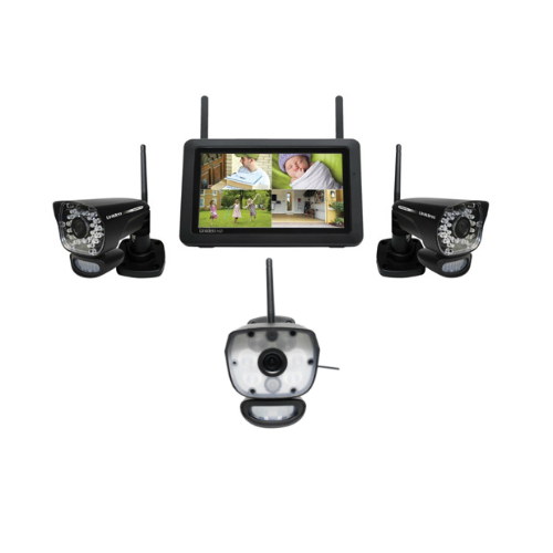 Uniden UDR780HD plus ULC58-1 Wireless Security Camera System by Uniden