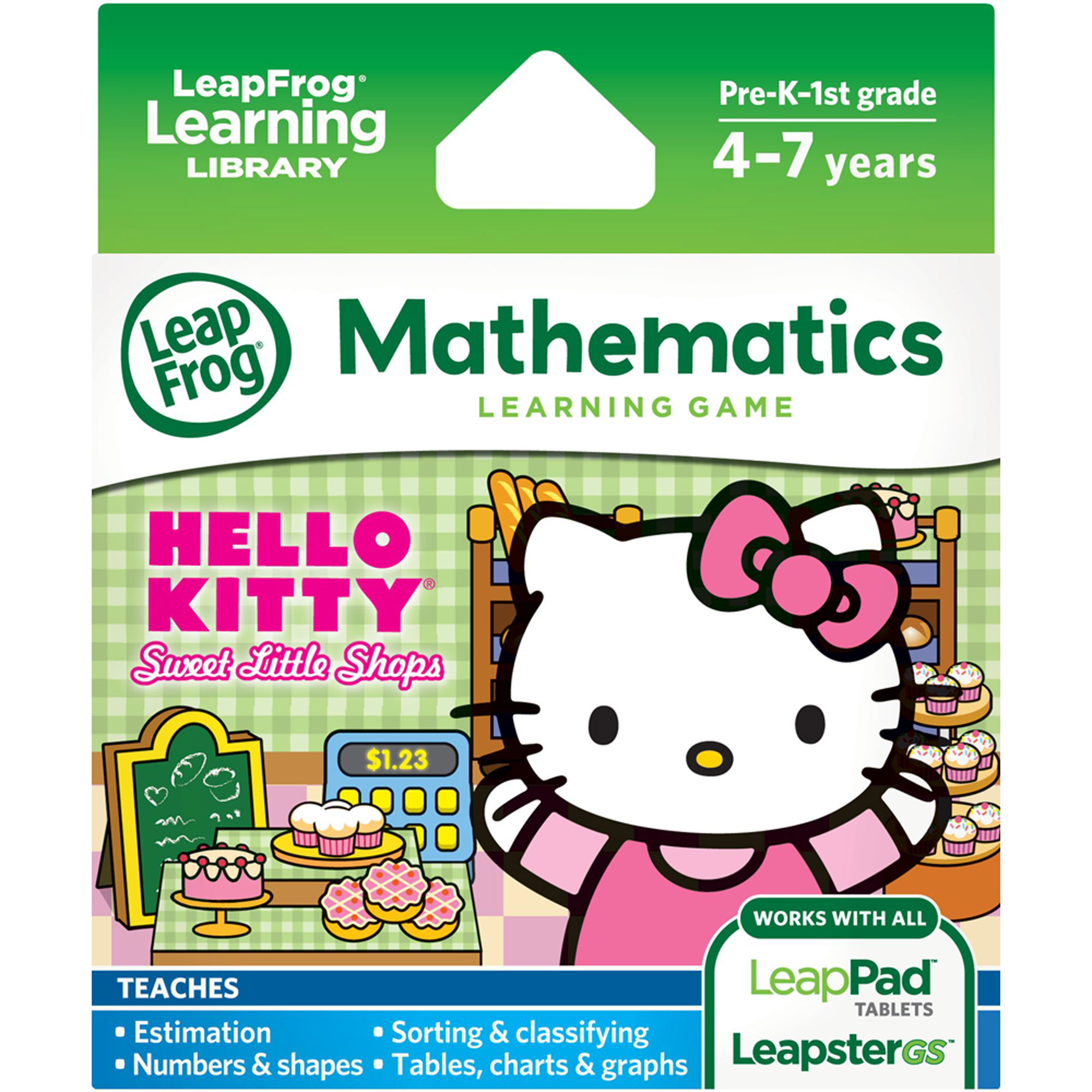 LeapFrog Explorer Learning Game, Sanrio Hello Kitty Sweet Little Shops