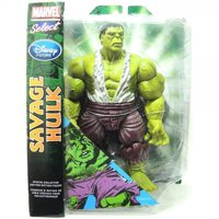 marvel select exclusive action figure savage hulk - 10""