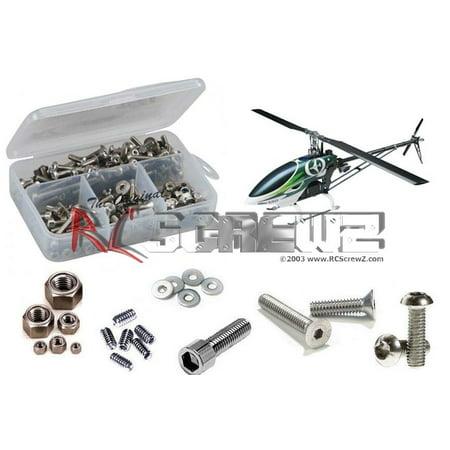 Thunder Tiger Set Screw (RC Screwz Stainless Steel Screw Kit for Thunder Tiger G4 e720 Heli)