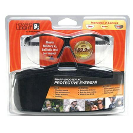 Motorcycle Eye Protection (HOWARD LEIGHT GENESIS EYE PROTECTION BLACK )