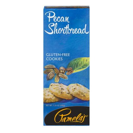 Pamela's Gluten-Free Cookies Pecan Shortbread, 7.25 OZ