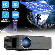 Best 3d Projectors - VIVIBRIGHT F30 LCD Projector 4200 Lumens Full HD Review