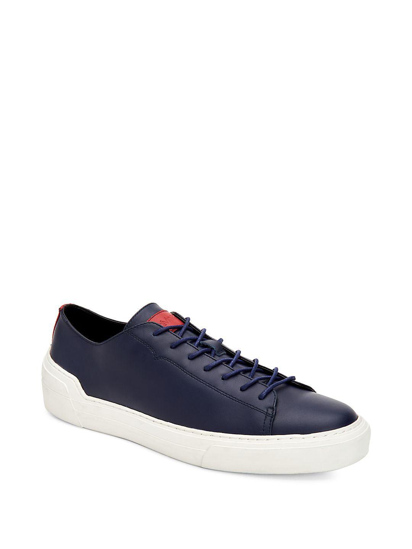 Octavian Leather Low-Top Sneakers