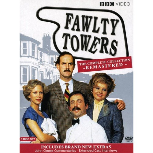 FAWLTY TOWERS-SPECIAL EDITION (DVD/3 DISC/FF-FX3/ENG-SUB/REMASTERED)