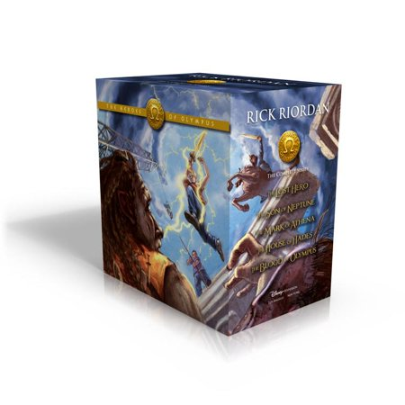 - The Heroes of Olympus Hardcover Boxed Set