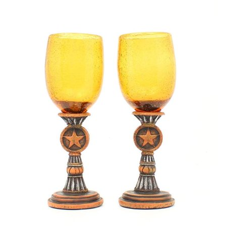 Western Moments 94025 Silverado Wine Glass Set ()