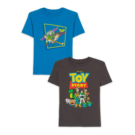 Cheap Disney Shirts For Kids (Disney Toy Story Boys 4-7 Group Graphic T-Shirt,)