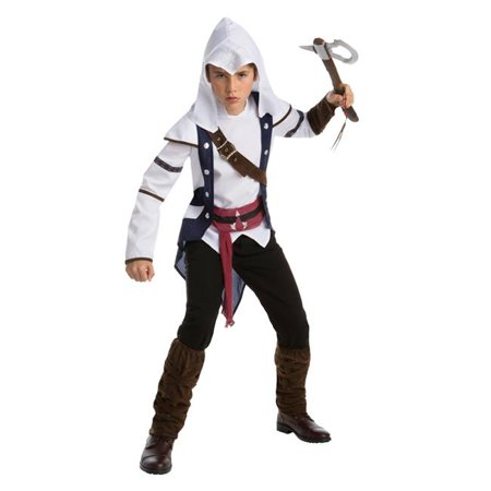 Assassins Creed Connor Tween Costume, Size (Assassin's Creed Cosplay Costume For Sale)