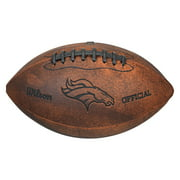 "Wilson NFL 9"" Throwback Football, Denver Broncos"
