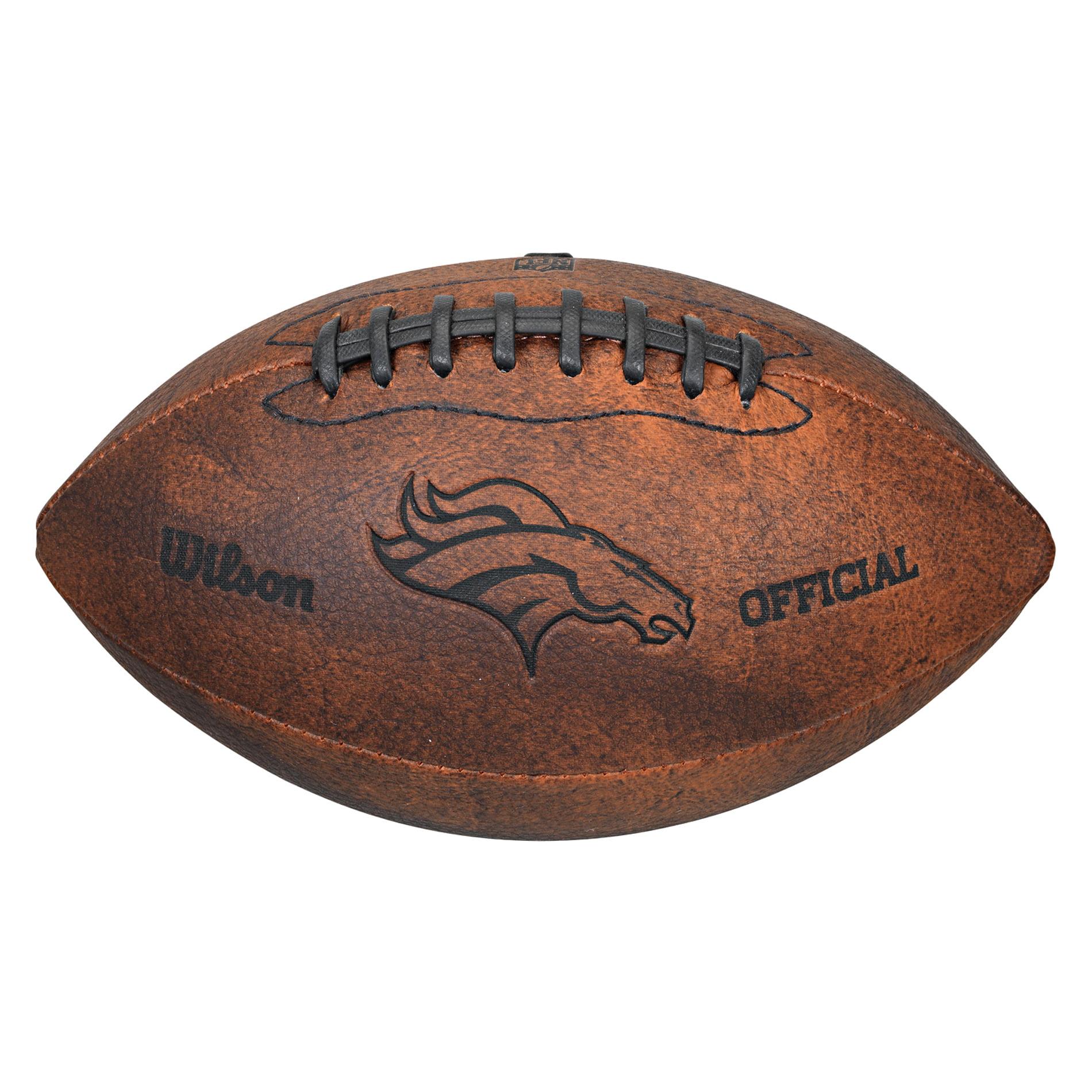 "Wilson NFL 9"" Throwback Football, Denver Broncos"