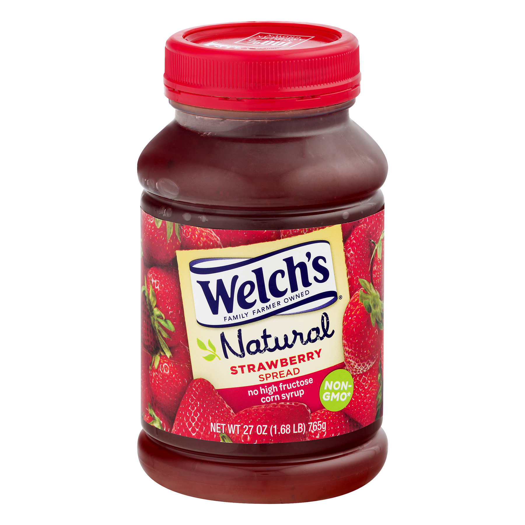 Welch's Natural Spread, Strawberry, 27 Oz, 1 Count