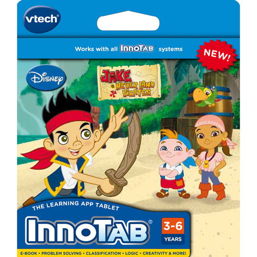 VTech InnoTab Software, Jake and the Never Land Pirates