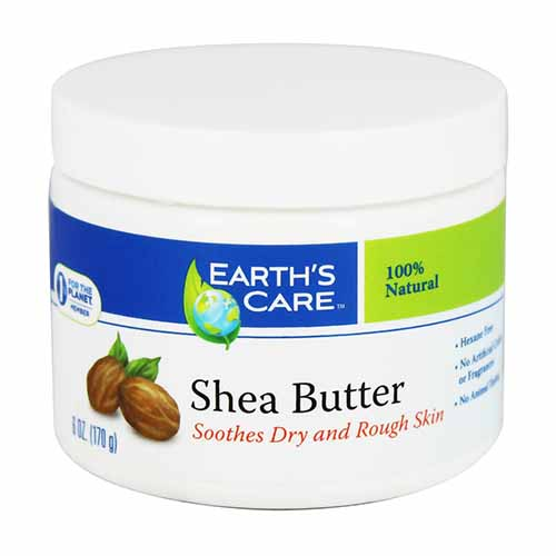 Earths Care 100% Natural Pure Shea Butter - 6 Oz, 2 Pack