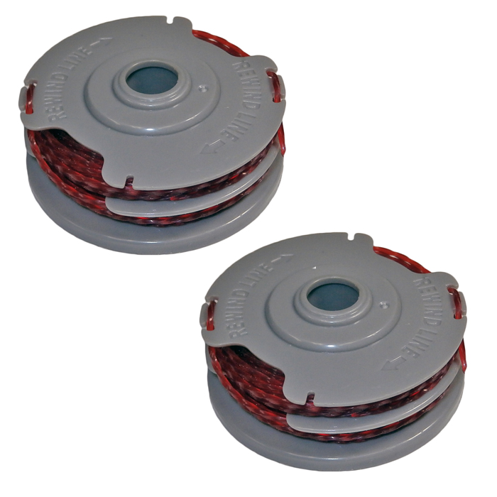 Husqvarna Trimmer 2 Pack of Genuine OEM Replacement Spools # 591048301-2PK