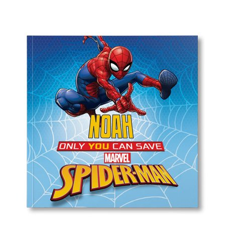Marvel's Only You Can Save Spider-Man - Personalized Book - Personalized Boots