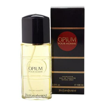 Yves Saint Laurent Opium Pour Homme Eau De Toilette Spray, Cologne for Men, 3.3 Oz