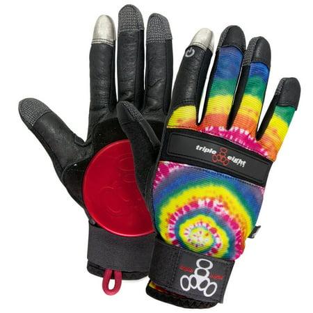 Triple Eight Tye Dye Downhill Longboard Gloves