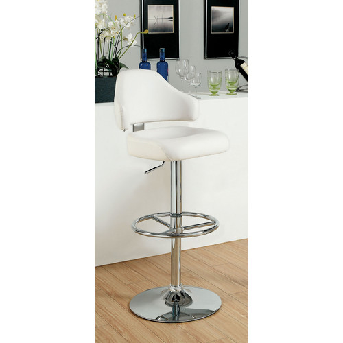 Hokku Designs Adjustable Height Swivel Bar Stool by Enitial Lab