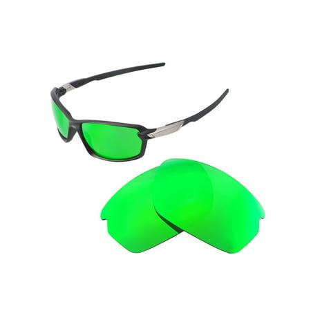 24e37addb6 Walleva - Walleva Emerald Polarized Replacement Lenses for Oakley Carbon  Shift Sunglasses - Walmart.com