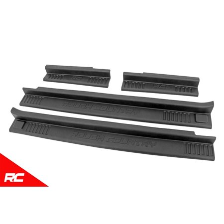 Rough Country Door Entry Guards compatible w/ 2007-2018 Jeep Wrangler JK 4DR Front Rear 10567 4dr Vertical Lambo Doors