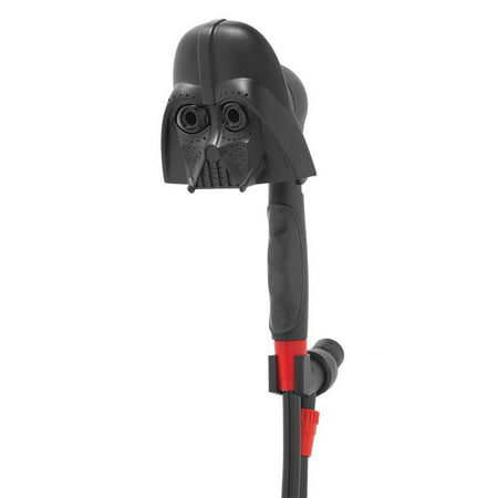 Oxygenics Disney Star Wars Darth Vader Handheld Shower Head with 3 Spray (Spray Setting Handheld Showerhead)