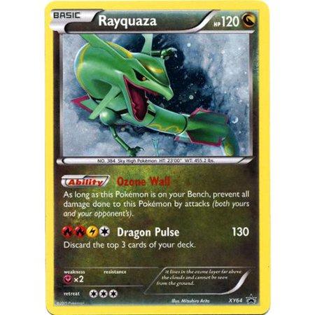 Pokemon X & Y Promo Single Card Rare Holo Rayquaza XY64
