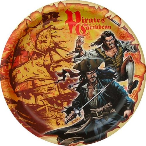 Pirates of the Caribbean Small Paper Plates (8ct)