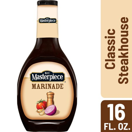 KC Masterpiece Classic Steakhouse Marinade, 16 Ounces