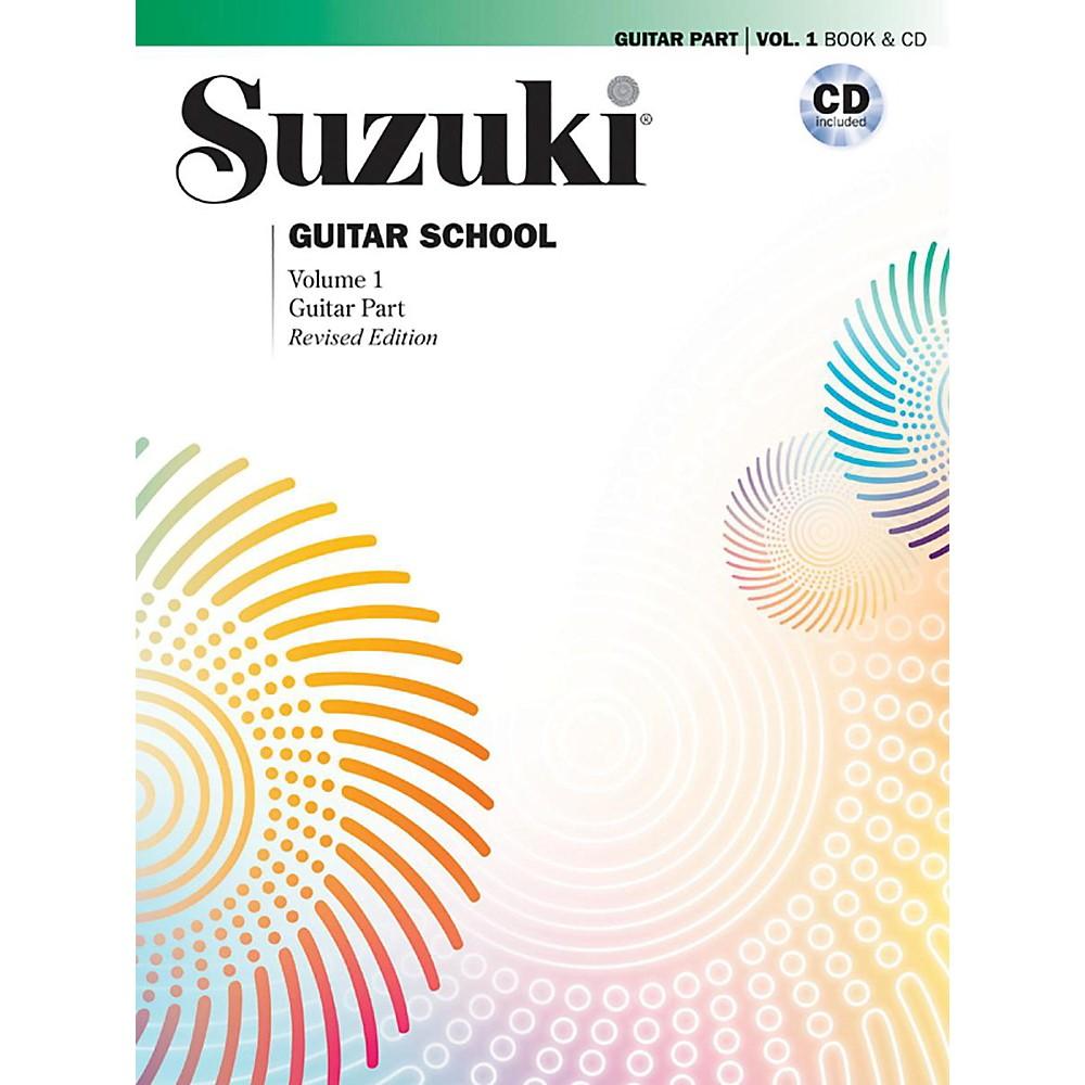 Alfred 00-40745 Suzuki Guitar School Guitar Part & CD, Volume 1 by Alfred