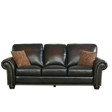 Devon & Claire Jax Hand Rubbed Leather Sofa Hand Rubbed Leather Finish