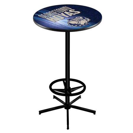 Georgetown 42 Inch High 36 Top Black L216 Pub Table