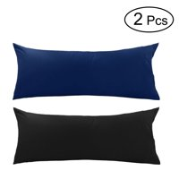 PiccoCasa 2-Piece Body Size Pillow Cases Cotton Egyptian Pillowcases
