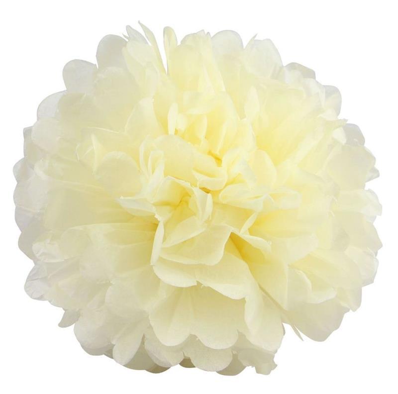 "BalsaCircle 12 pcs 12"" Paper Pom-Poms - Wedding Bridal Event Party Decorations Supplies"