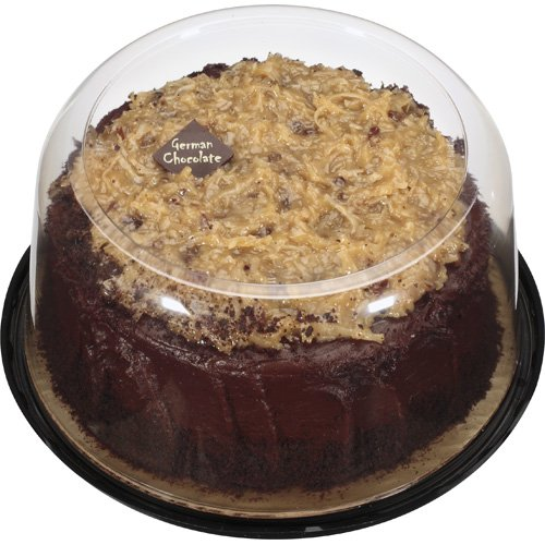 The Bakery At Walmart 7 Inch German Chocolate With Fudge Icing,  37 Oz