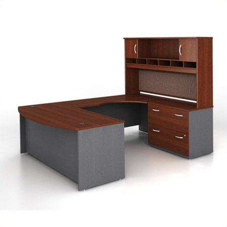 Series U-shape Computer - Bush Business Series C 4-Piece U-Shape RH Computer Desk