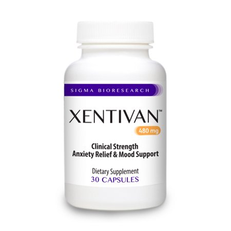 Xentivan - 100% NATURAL Formula to Reduce, Stress, Anxiety &