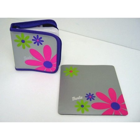 Barbie 28 CD Case Holder & Mousepad Set Mouse Pad ()