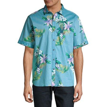 Classic-Fit Ocean Tropic Camp Shirt