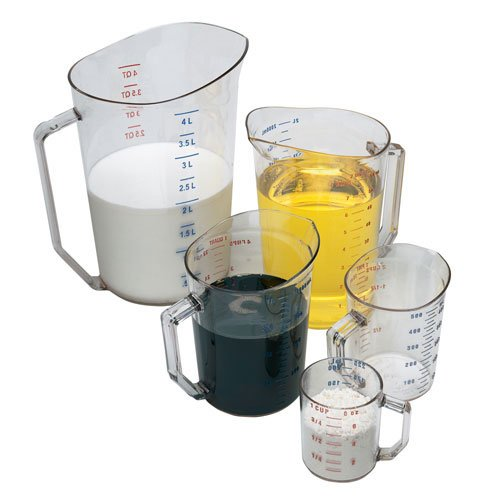 Camwear 2-Quart Polycarbonate Measuring Cup, Clear