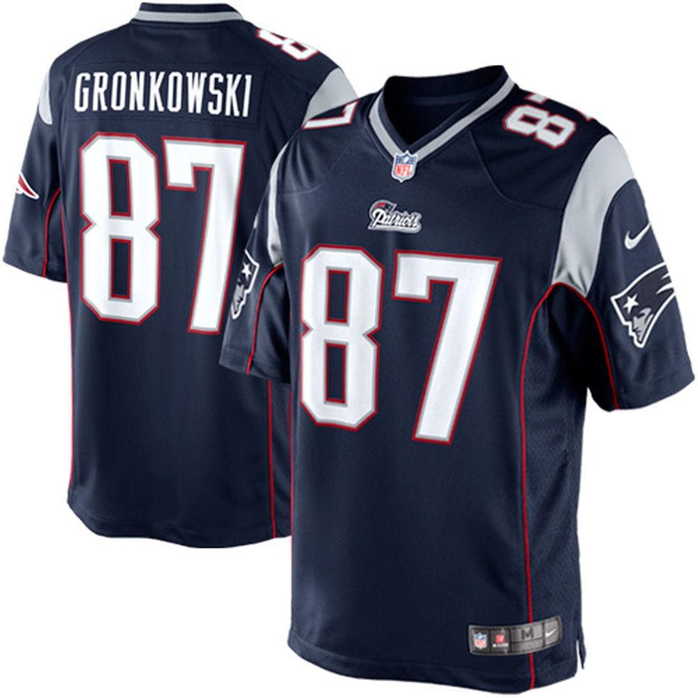 Youth New England Patriots Rob Gronkowski Nike Navy Blue Limited Jersey -  Walmart.com 0c8c8425f