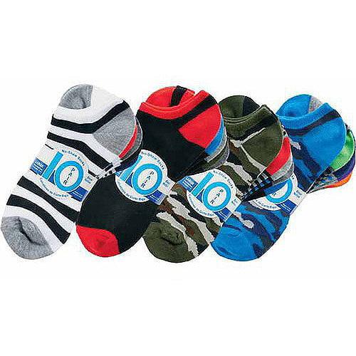Boys' Socks, 10 Pack