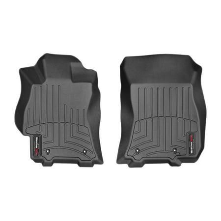 WeatherTech 2015 Subaru Legacy Front FloorLiner - Black *Does Not Fit Manual Transmission*