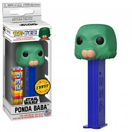Star Wars Funko POP! PEZ Ponda Baba (Walrus Man) Candy Dispenser [Green Face, Chase Version] - Star Wars Pez