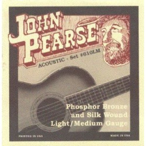 John Pearse Phosphor Bronze Silk 12-53 by