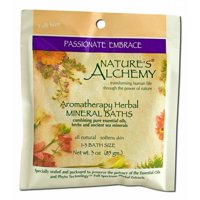 Nature's Alchemy - Aromatherapy Mineral Baths, Passionate Embrace 3 oz each